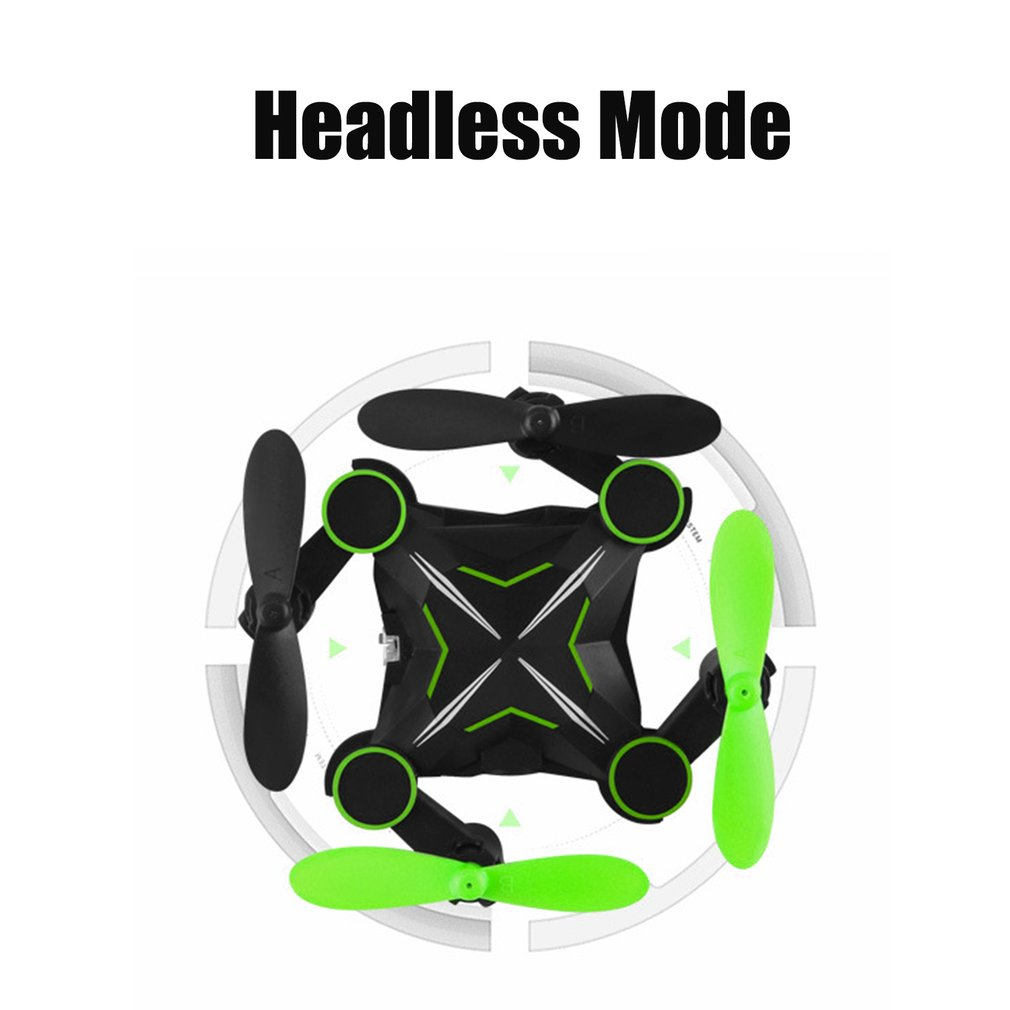 901H Four Axis Aerial Photography Aircraft Mini Foldable WIFI Helicopter