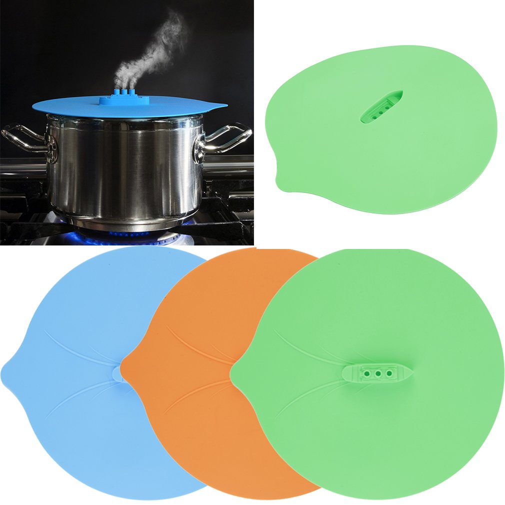 Silicone Steam Ship Steamship Pot Pan Hot Cover Kitchen Cook Tool