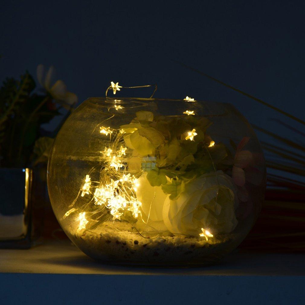 Battery Powered Silver Wire String Light 40 LEDs Bottle Stopper Light For Decor