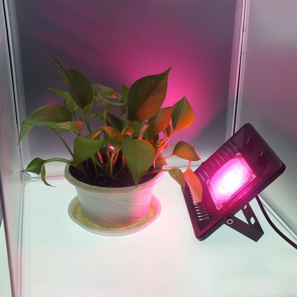 LED Plant Growing Bulbs Lamp Promoting Grow Bloom Light 50W Spot Light