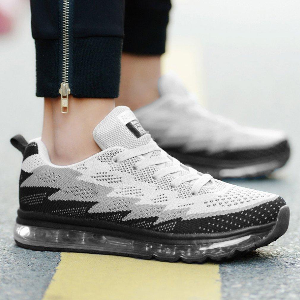 Men Women Sports Shoes 833 Unisex Casual Shoes Air Sole Shoes Shock Absorption