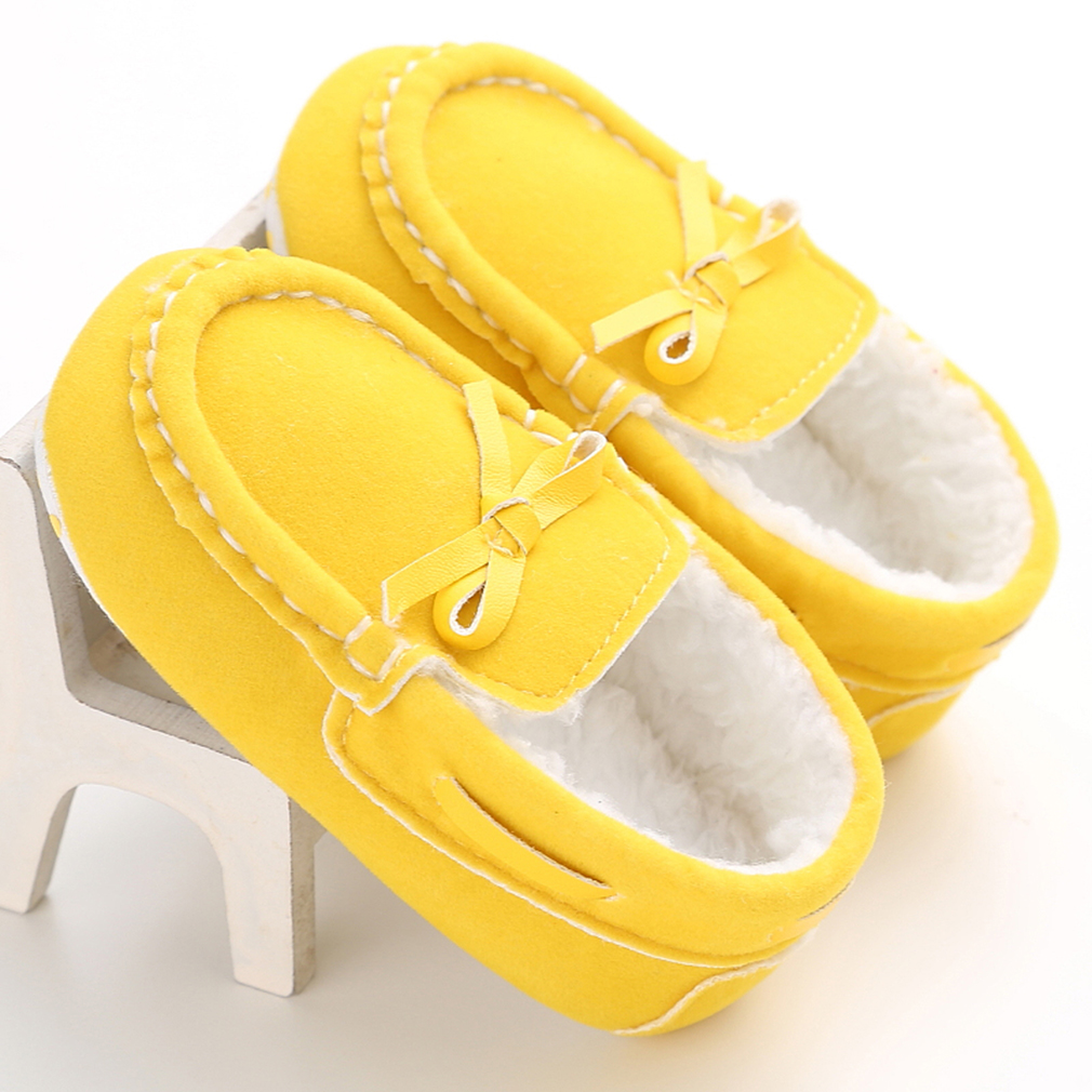 Newborn Baby Kids Cute Colorful Autumn Winter Soft Bottom Toddler Shoes