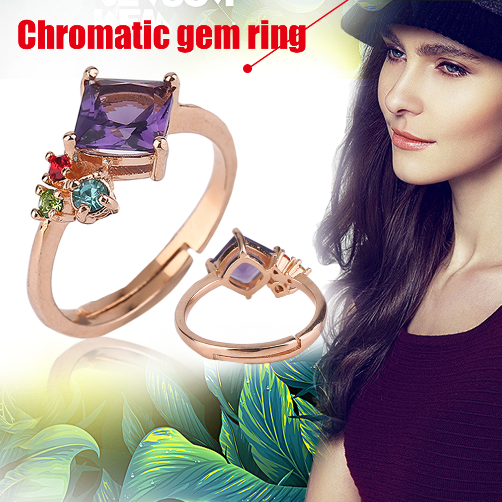 Korean Style Special Charming Women Ring Engagement Adjustable Ring Jewelry