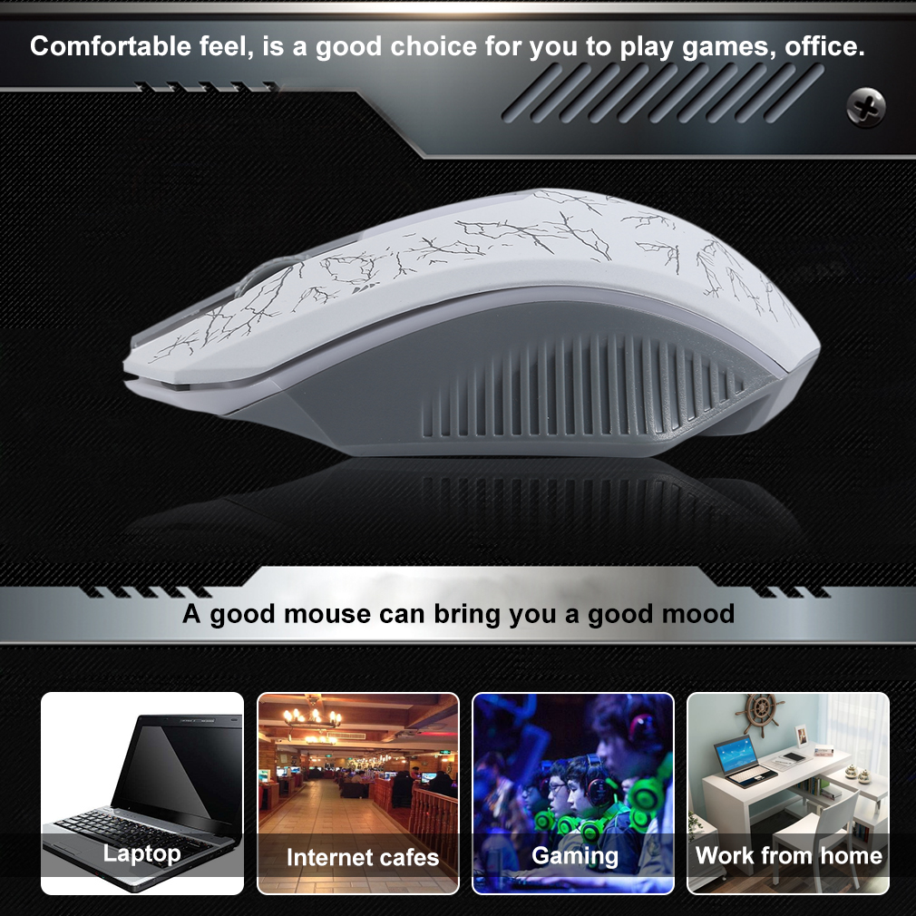 KFL-002 Wheel Mouse Backlight Breath Optical Mouse USB Wired Mouse 3 Buttons