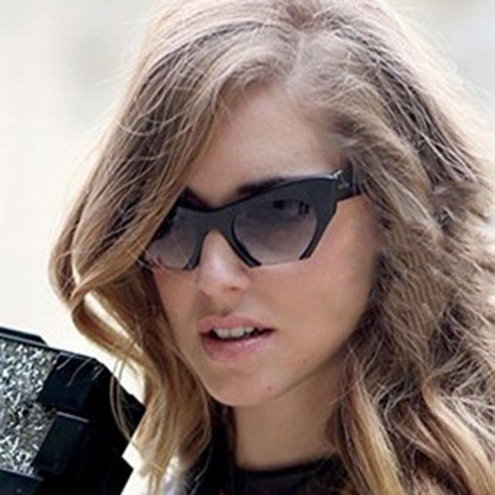 Stylish Half Frame Sunglasses Ultraviolet-proof Woman Man Eyewear Oversize Sun Glasses Clear Resin Lens For Summer Travel