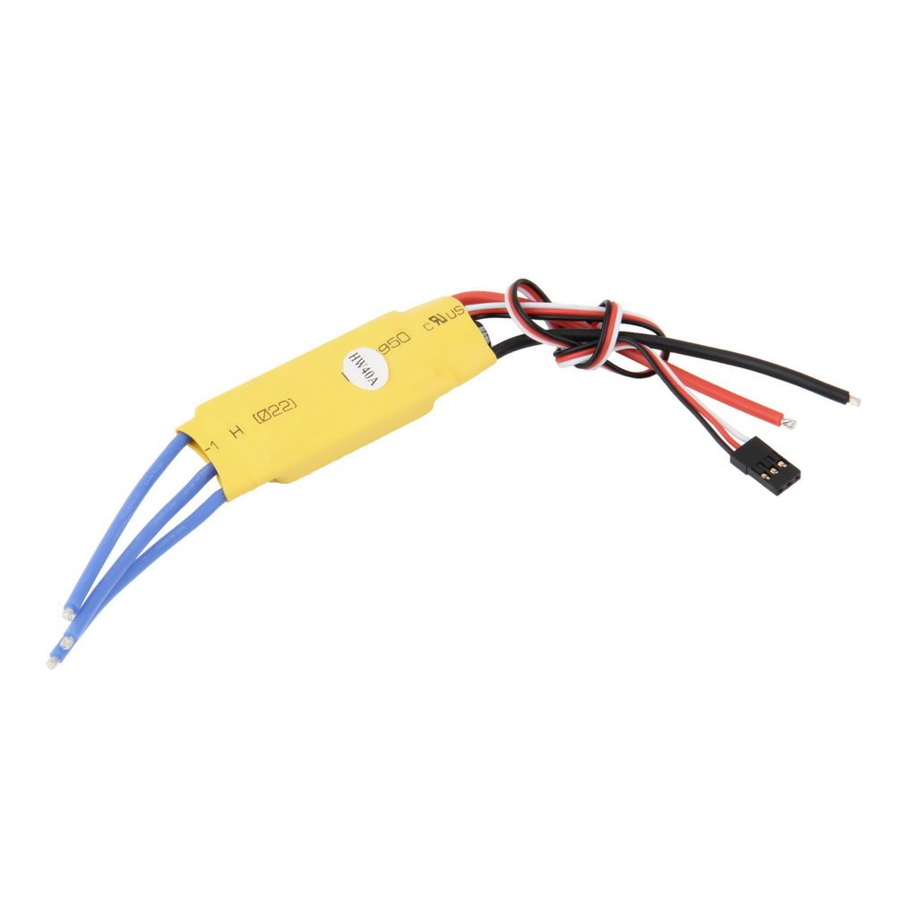 40A ESC For Brushless Motor Speed Controller Pro RC Helicopters Planes Boats