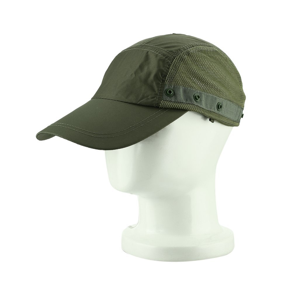 Unisex Quick Dry Breathable and Detachable Cap