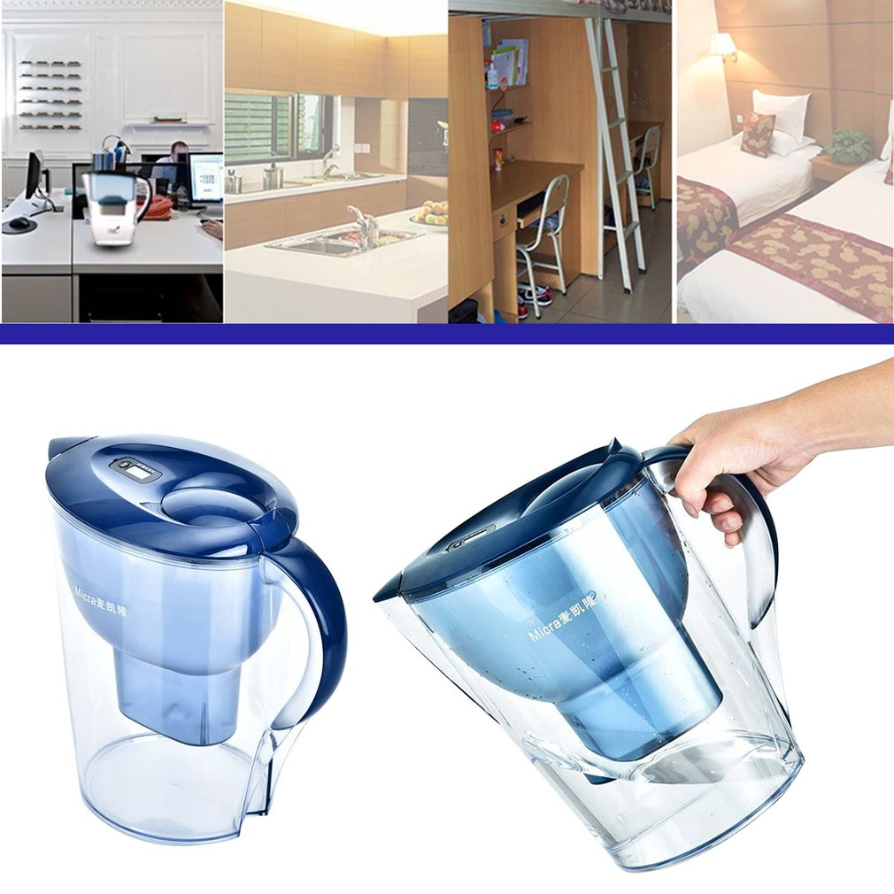 3.5L Large Size Household Use Water Kettle Water Purification Jug Water Filters Purifier Healthy Water Pot Kettle