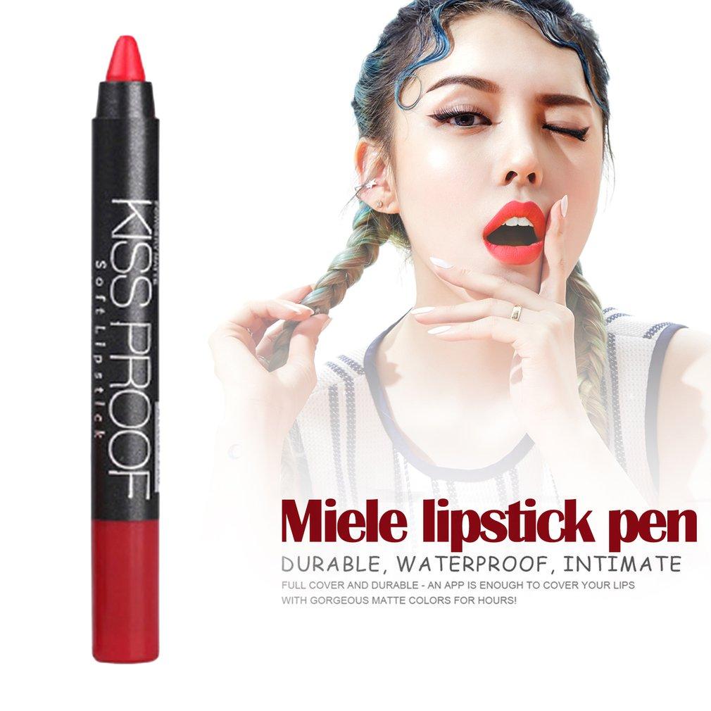 Menow Matte Soft Lip Stick Women Lip Beauty Lip Pen Waterproof Lipstick