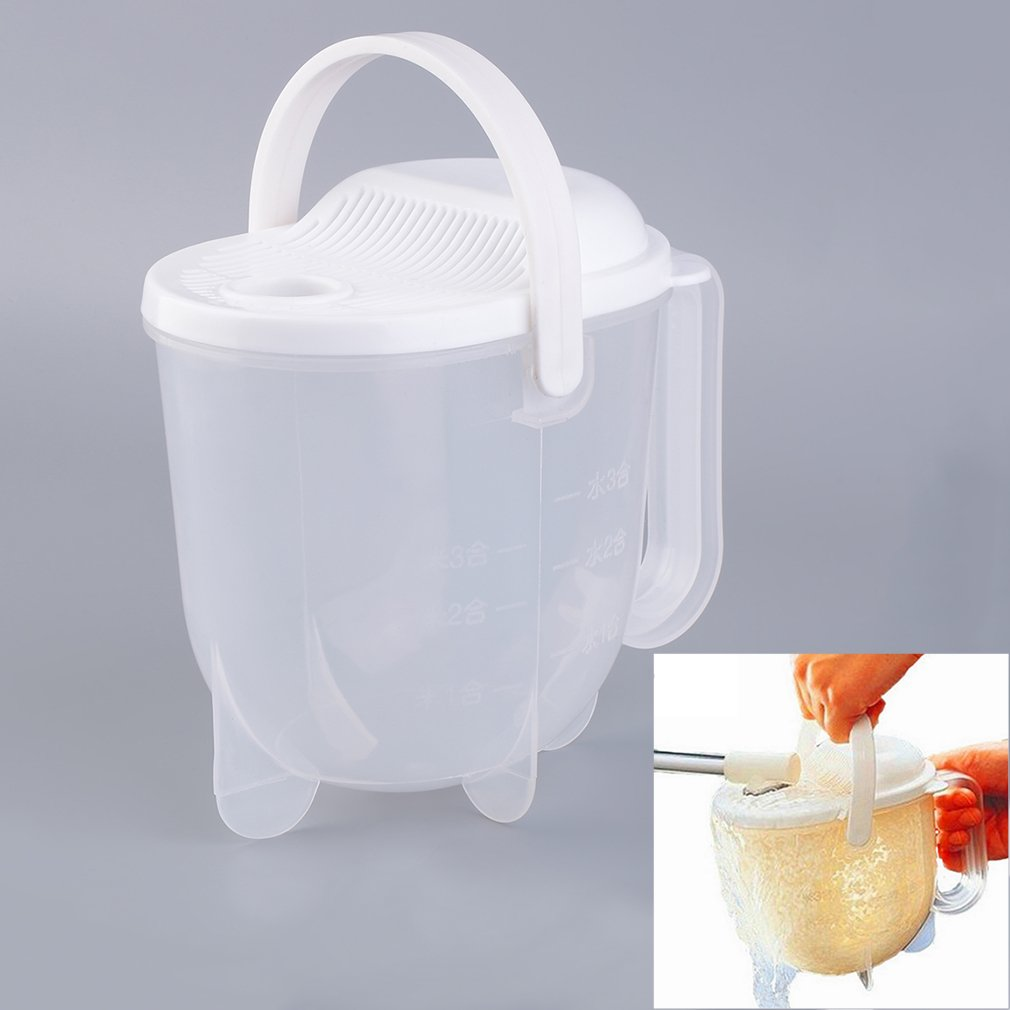 Plastic Kitchen Rice Washing Cleaning Tool Beans Wash Clean Rice Machine