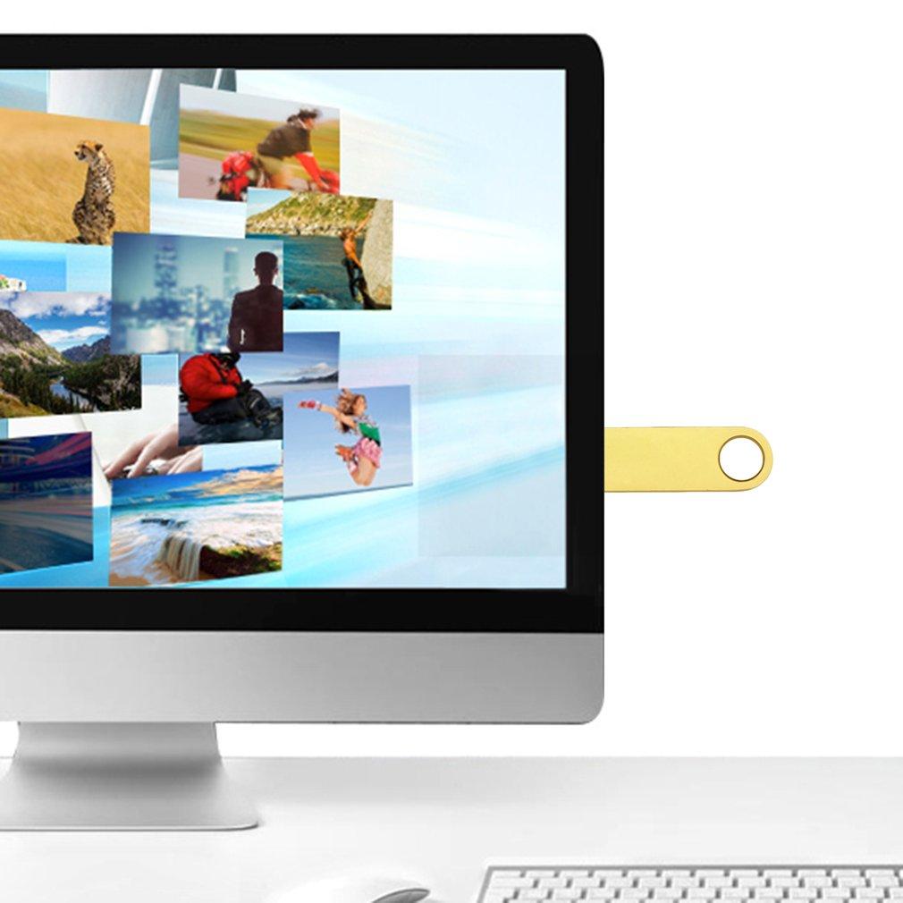 Metal Waterproof U Disk Flash Drive 16G USB 2.0 High Speed for Data Transport