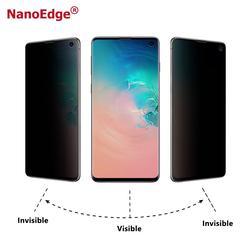 Galaxy S10/S10 Plus/S10e Privacy Filter 3D anti-spy Screen Protector