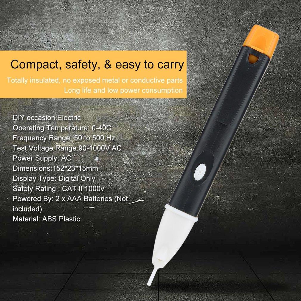 1AC-B Test Pen Digital Electric Indicator AC 90-1000V Power LED Light Indicator