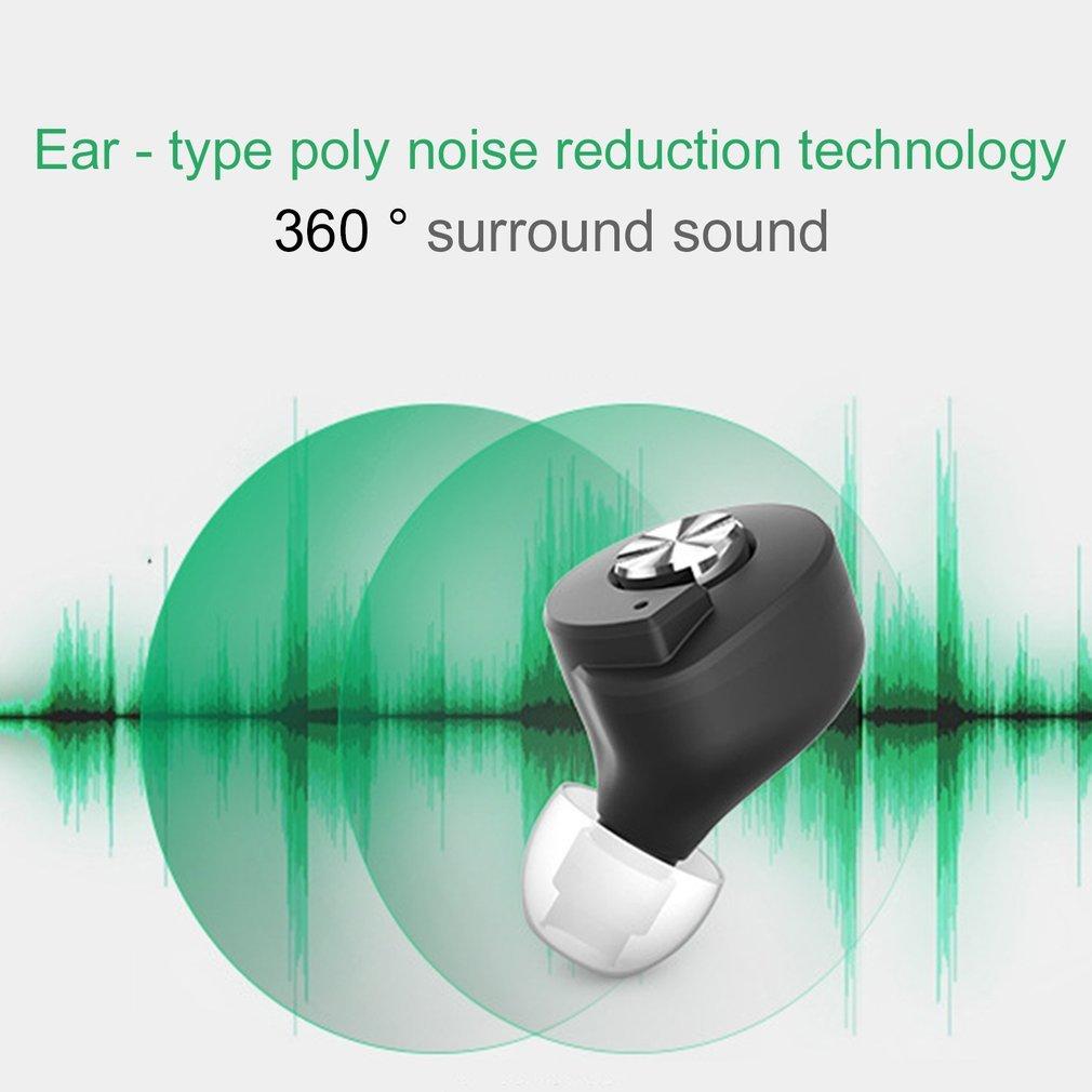 Mini T8 TWS Twins Wireless Bluetooth Stereo In-Ear Earphones For Smartphone