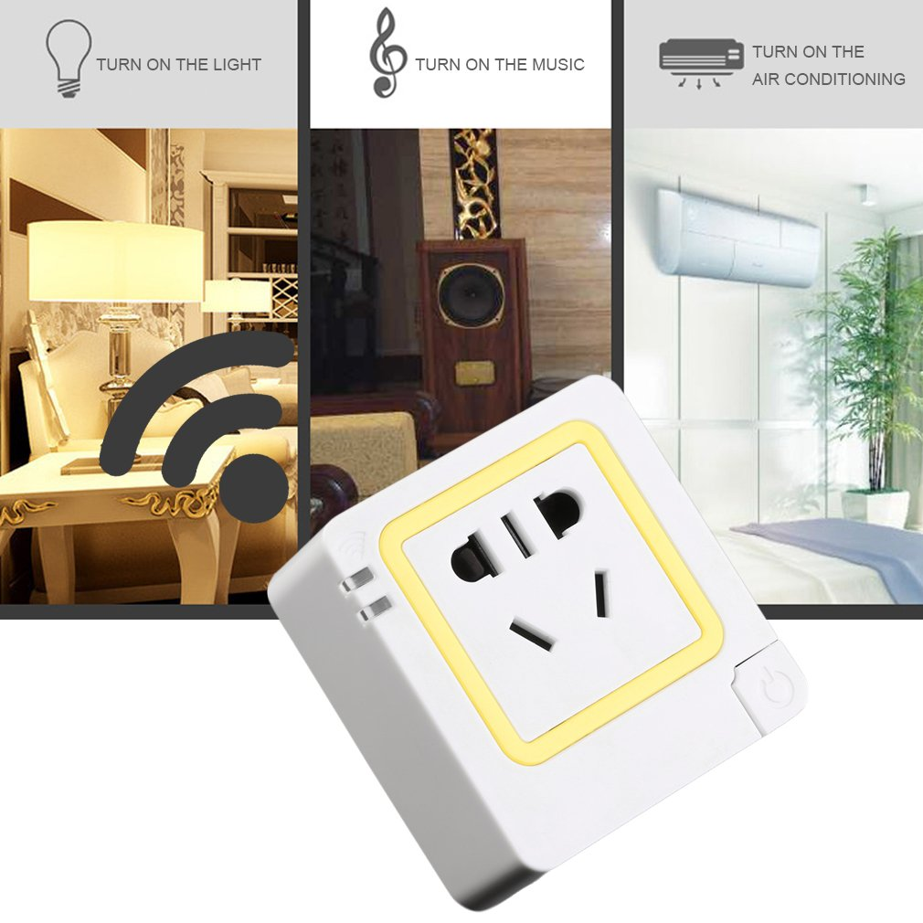 WiFi Remote Control Smart APP Control Timing Socket Switch for Android
