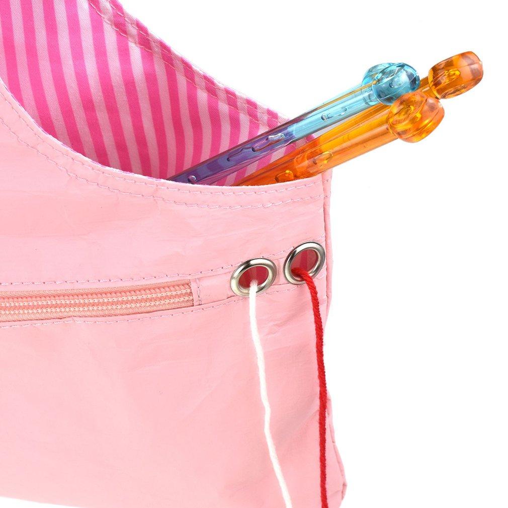 Knitting Needle Bag Knitting Wool Storage Bag Household Handheld DIY Organizer