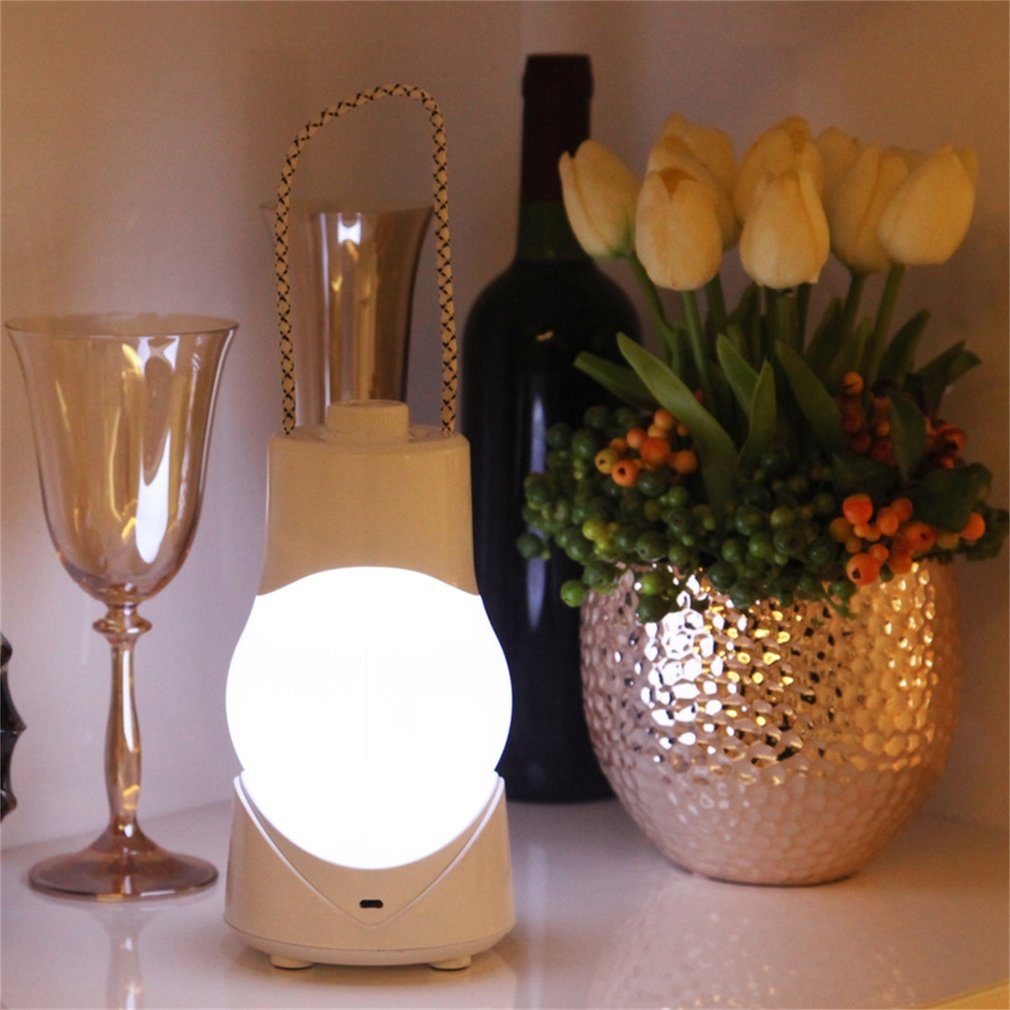 Music Night Light LED Timing Lamp With Eight Sound Box Light Adjustable