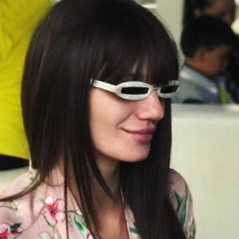 Small Cat Eye Women Sunglasses Luxury Ladies Chic Oval Sun Glasses Men Punk Glasses Popular Travel Glasses BZ661