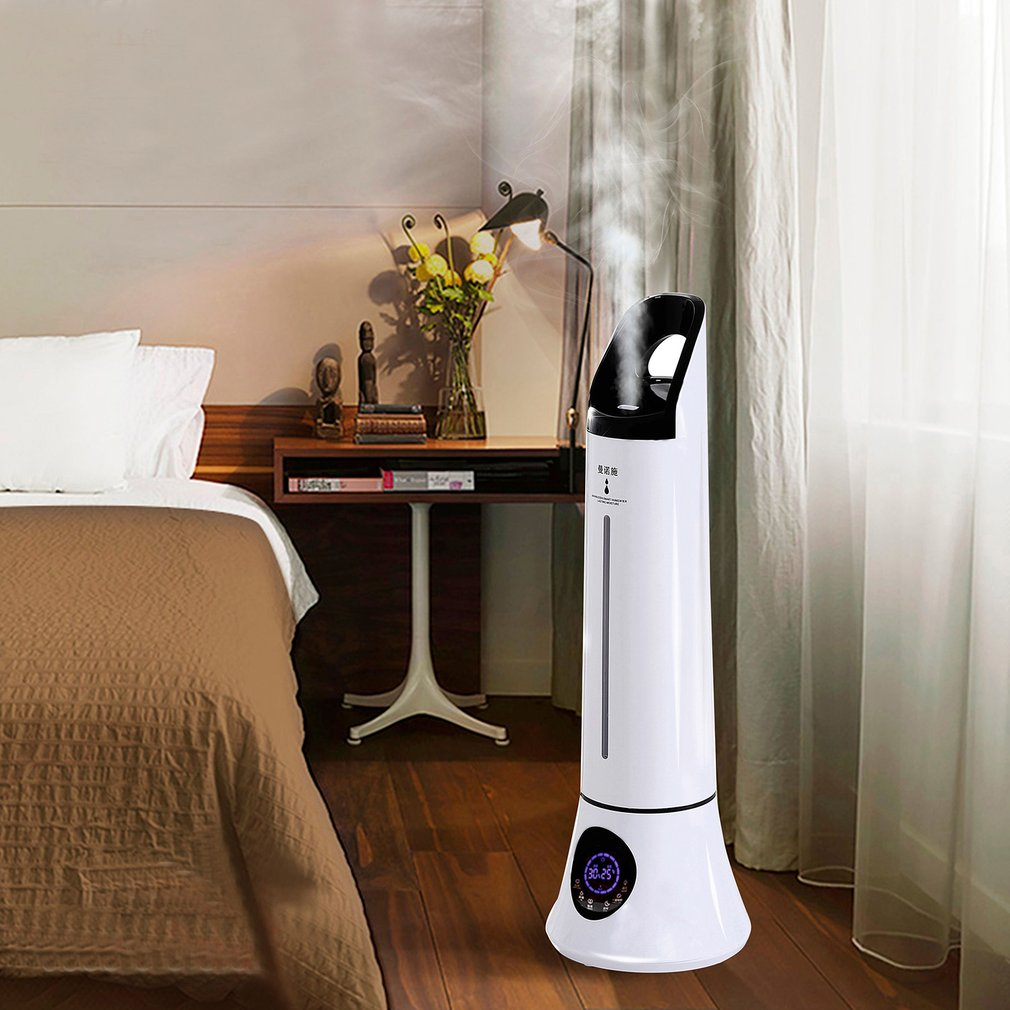 MNS-01 Intelligent Ultrasound Humidifier High Capacity Timing Air Purifier