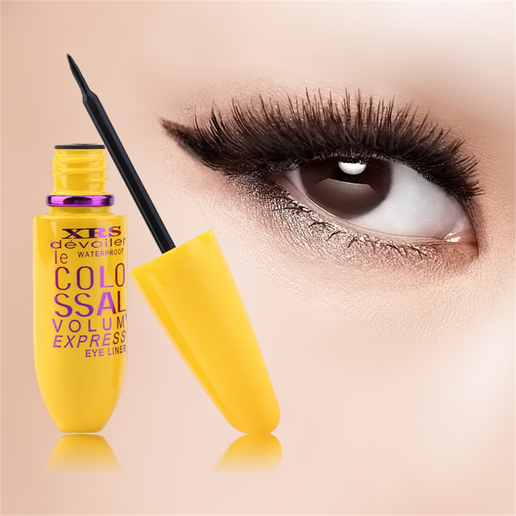 2PCS Trendy Style Eye Makeup 2 in 1 Mascara and Eyeliner Set New