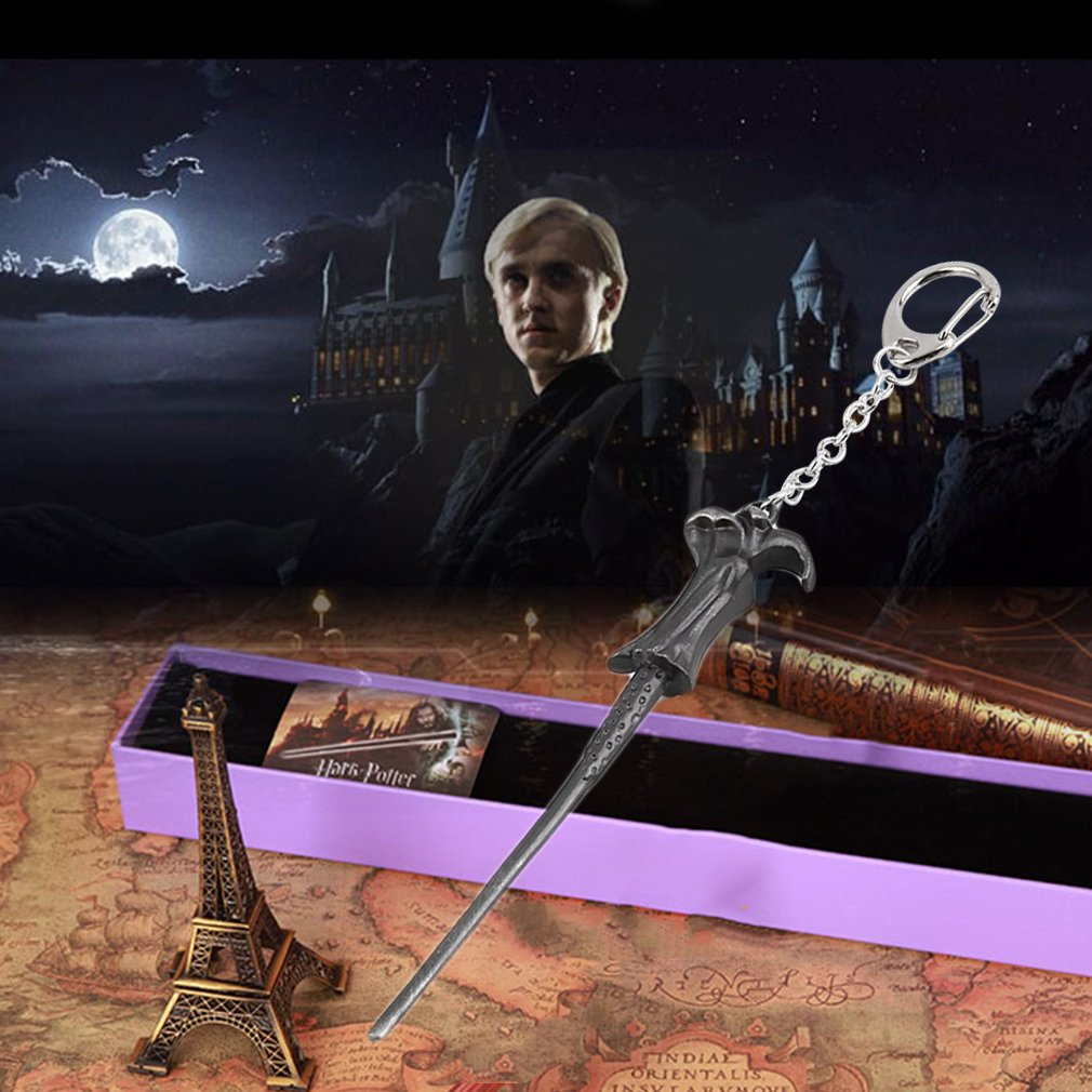 Vintage Style Movie Magic Wand Keychain Key Chains Cosplay Xmas Gift New