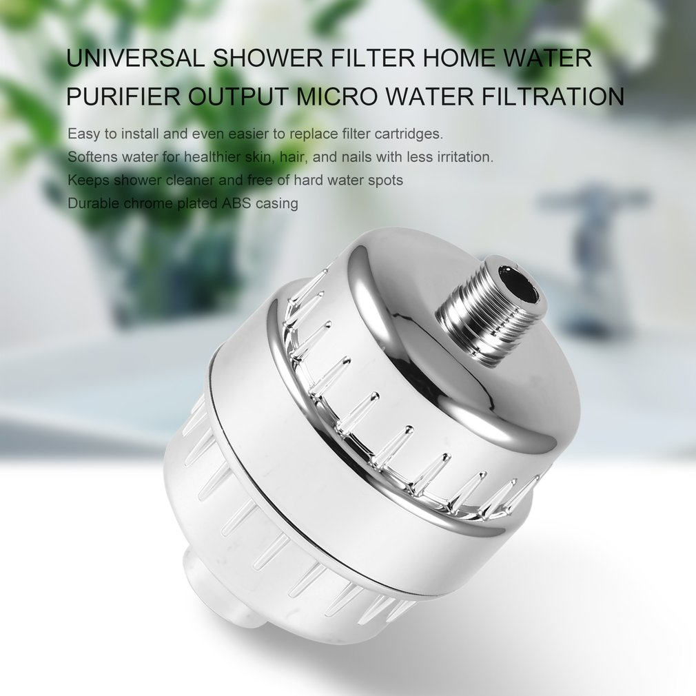 Universal Shower Filter Home Water Purifier Output Micro Water Filtration