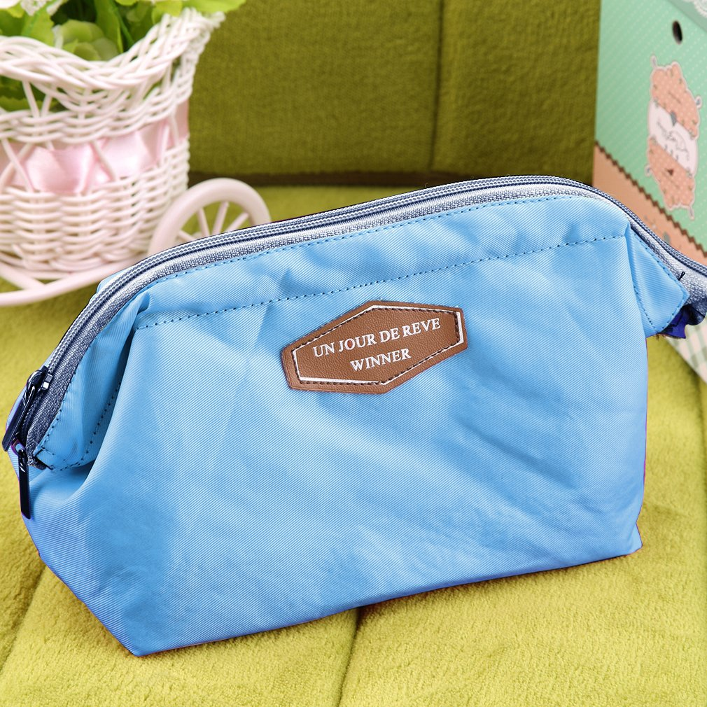 Mini Travel Cosmetic Bag Girl Multifunction Makeup Pouch Toiletry Case