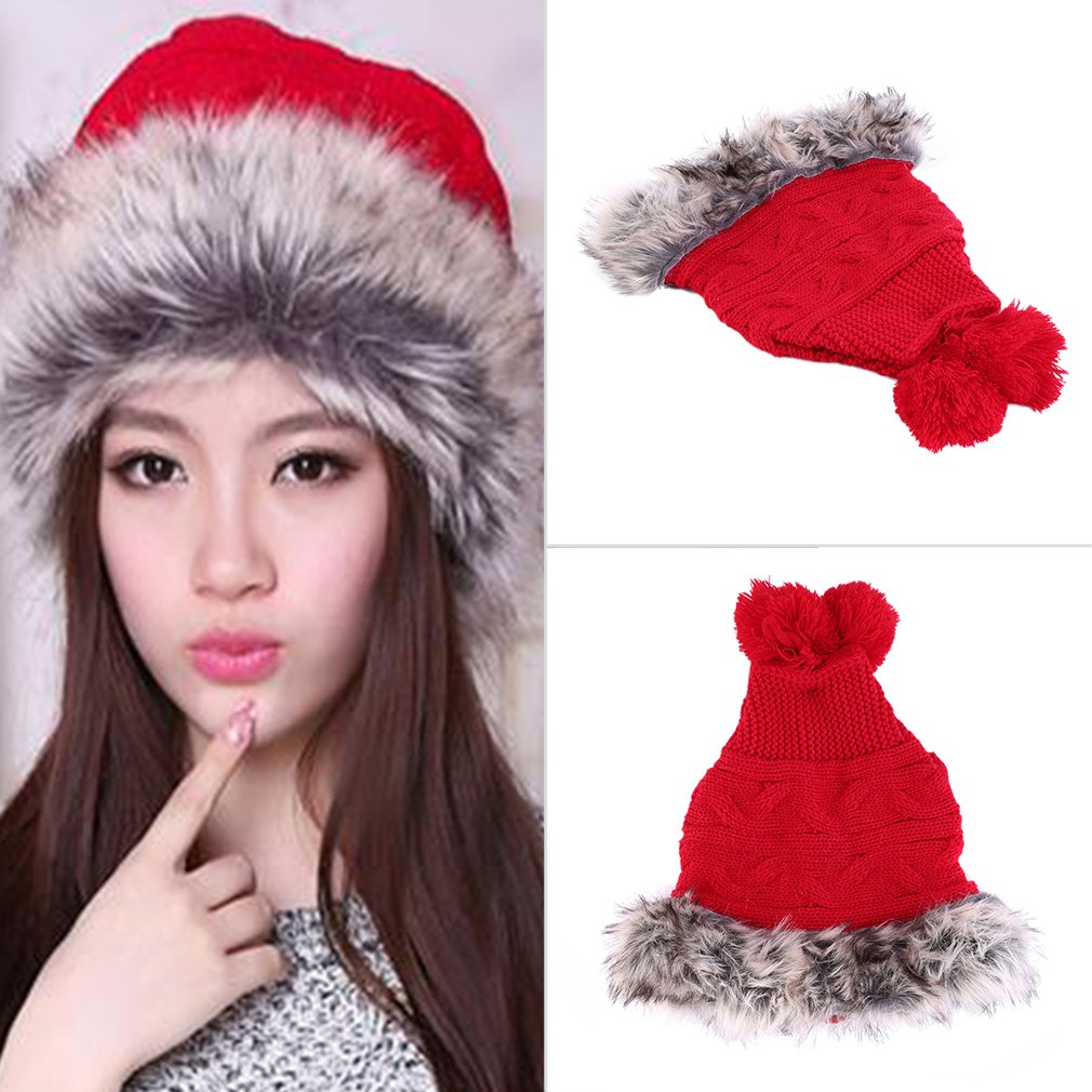 New Fashion Unisex Winter Knitting Crochet Hat Cap Collar Neck Warmer 2-in-1