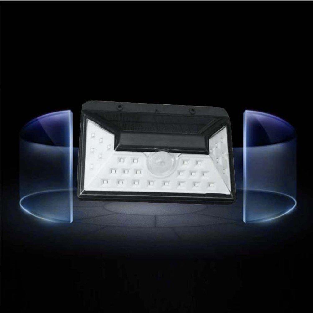YY-020 28 LED Solar Energy Lamp Brightness Human Body Sensor Induction Lamp