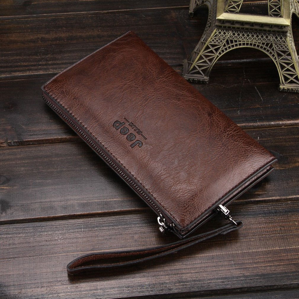 American Fashion High Class Soft PU Leather Men Business Cluth Bag Wallet