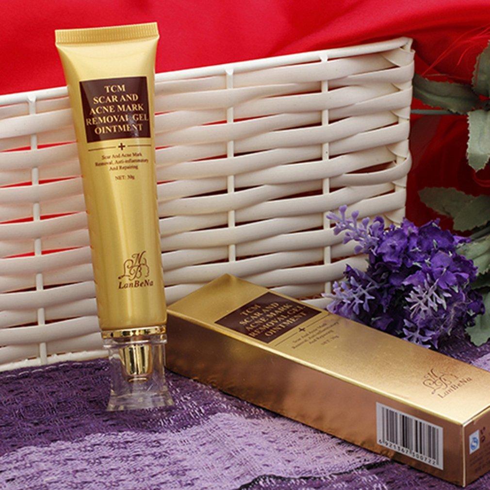 30G Natural Organic Acne Scar Removal Cream Skin Repair Face Care Cream Acne Spot Treatment Bleaching Cream