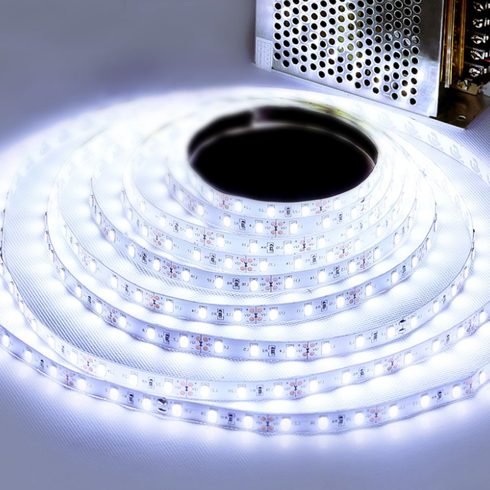 5M 3528 600LED Strip Light High Brightness Non-waterproof DC 12V 120 LED/m