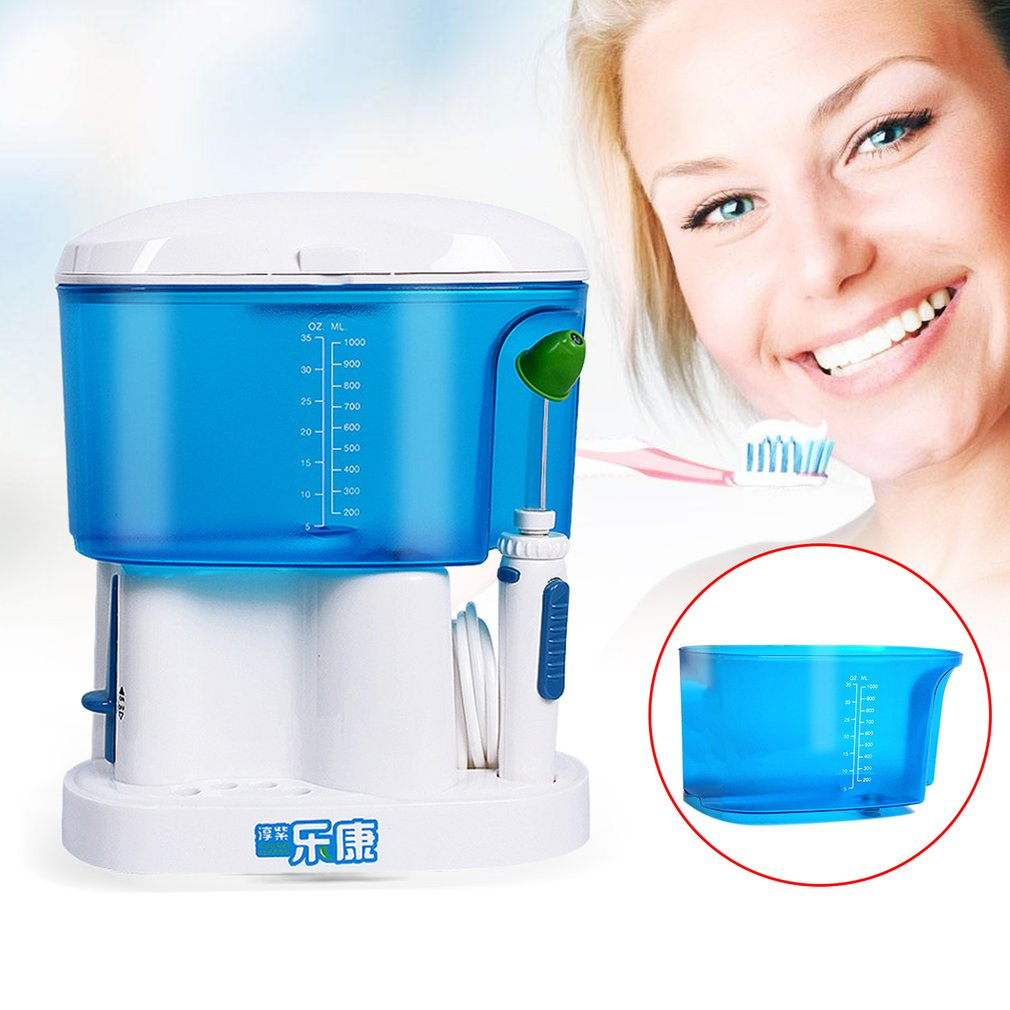 Tooth Washing Device Oral Irrigator Plaque Removal 1000ml Household US Plug