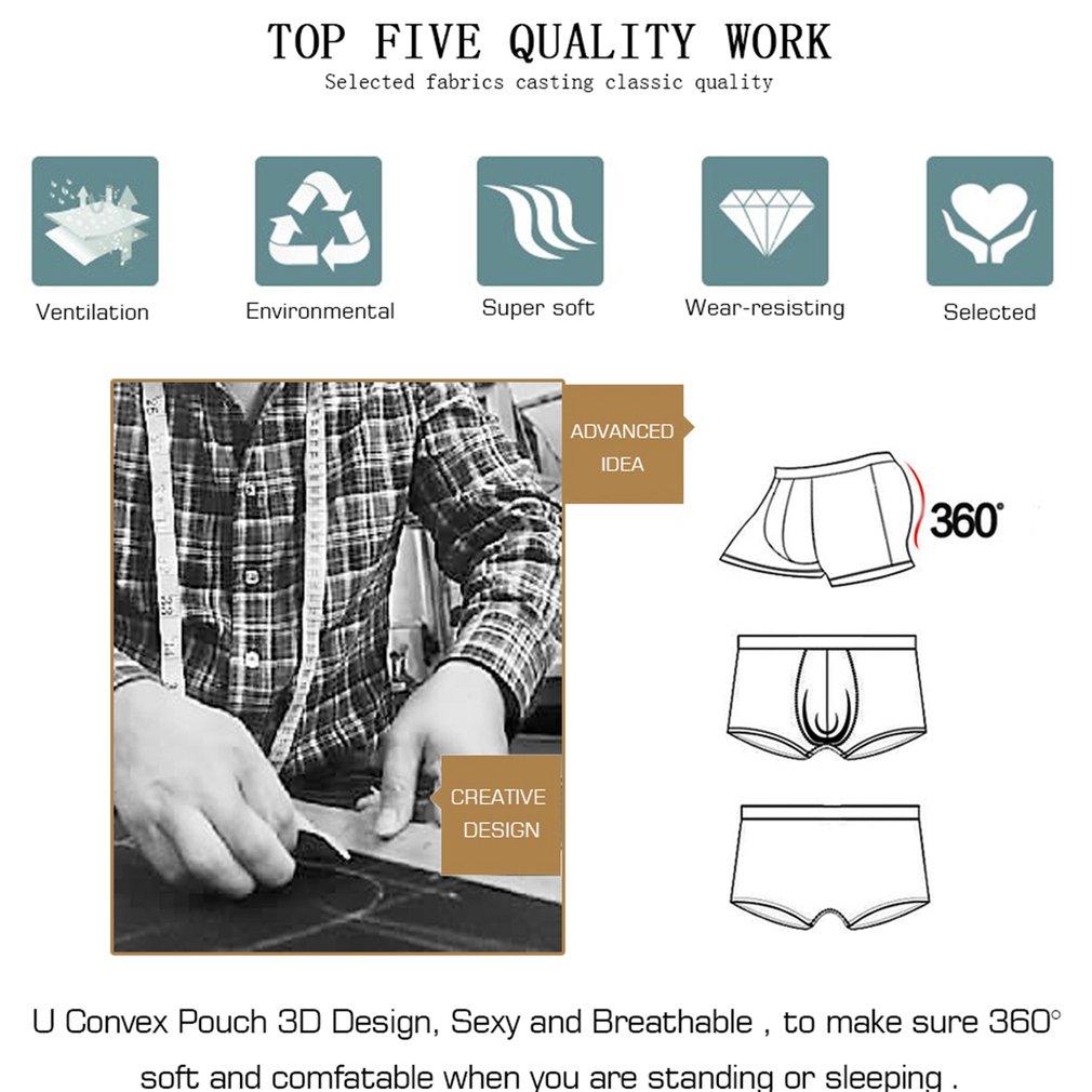 Orlvs Men Underwear Sexy Elastic Panties Briefs Low Waist Erotic Lingerie