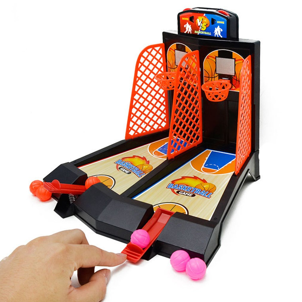 2 Players Tablet Basketball Toy Basketball Shooting Game For Kids Adults
