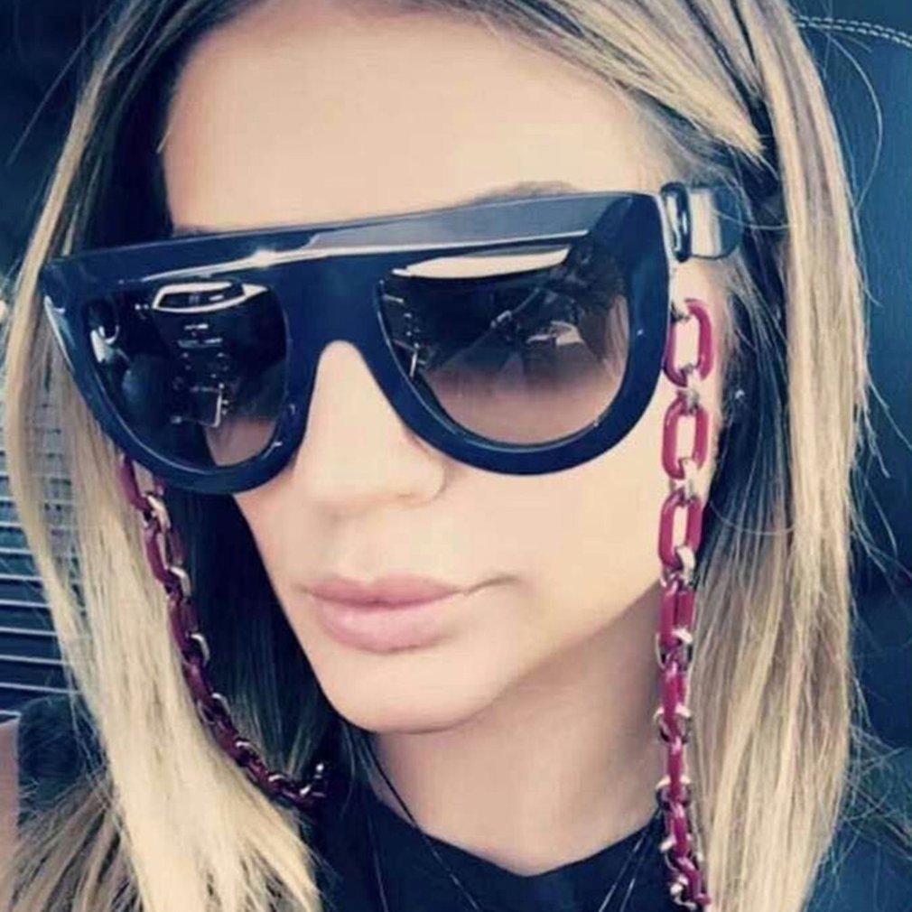 Luxury Oversize Women Sunglasses UV400 Eyewear Sun Glasses PC Frame Resin Lens Female Ladies Goggle Eyewear BZ663