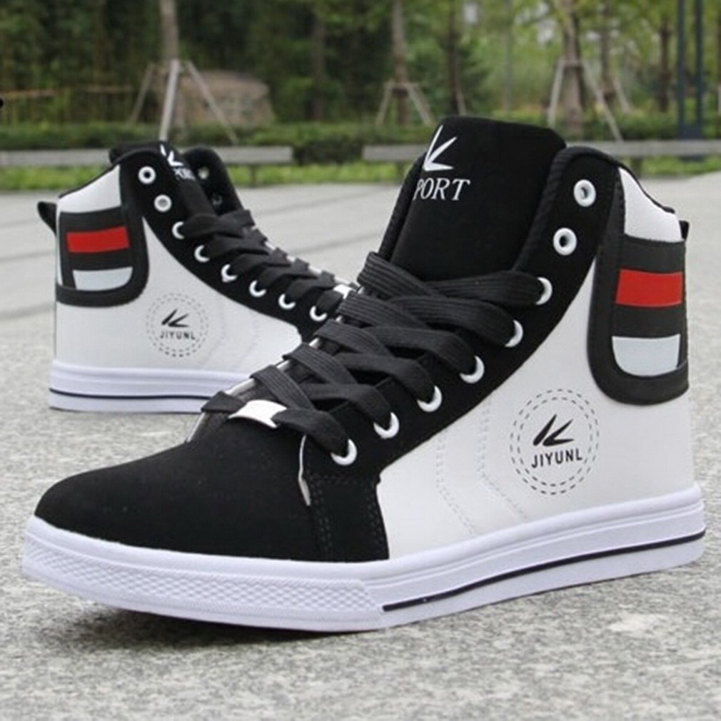 Hot Men Casual High Top Sport Sneakers Athletic Running Shoes Skate Shoes