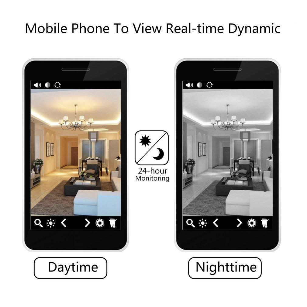 120 Degree WiFi Wireless Home Security IP Camera IR Night Vision HD Camera