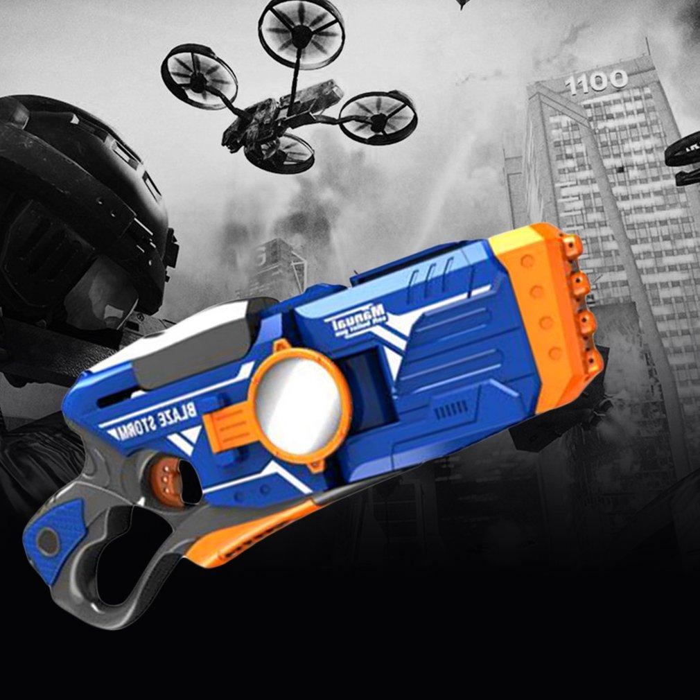 Manual Turning Soft Bullets Gun Children Toy Gun EVA Bullets Imitation Gun