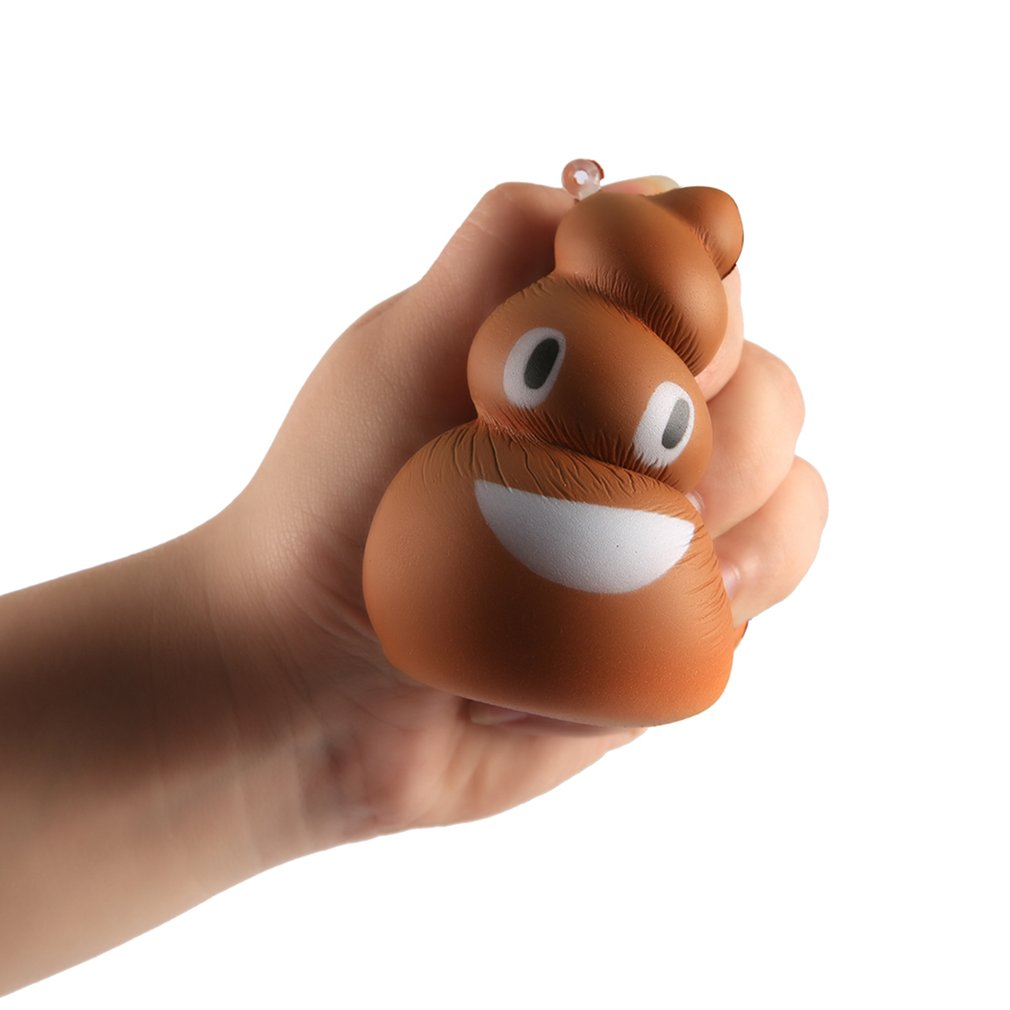 Lovely Cute Squeeze Poo Shape Small Size Slow Rising Toy Decompression Toys
