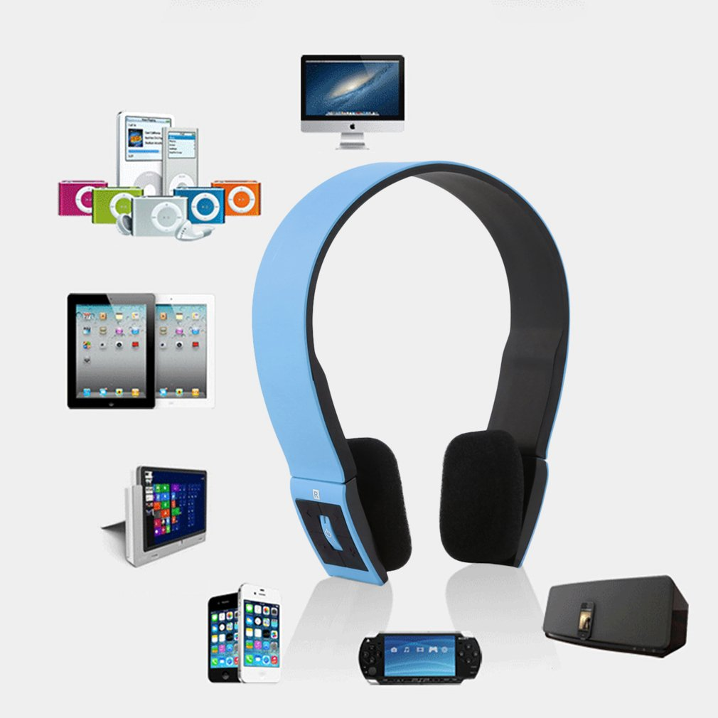 Bluetooth Sports Stereo Headset Headphone Mic for Mobile Phones Notebooks