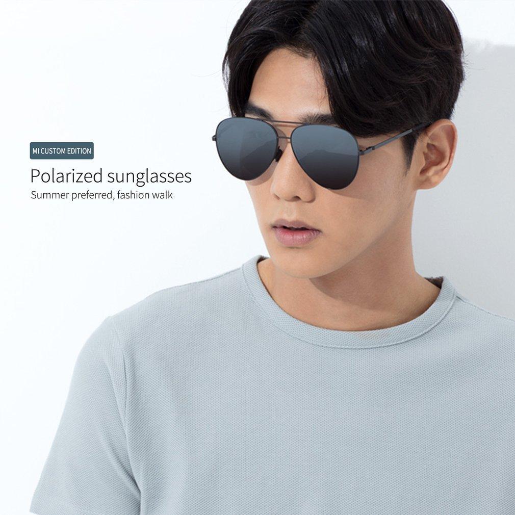 Xiaomi Mijia TS Polarized Sunglasses UV400 Protection Sun Mirror Lenses Glasses for Outdoor Travel Man Woman Unisex