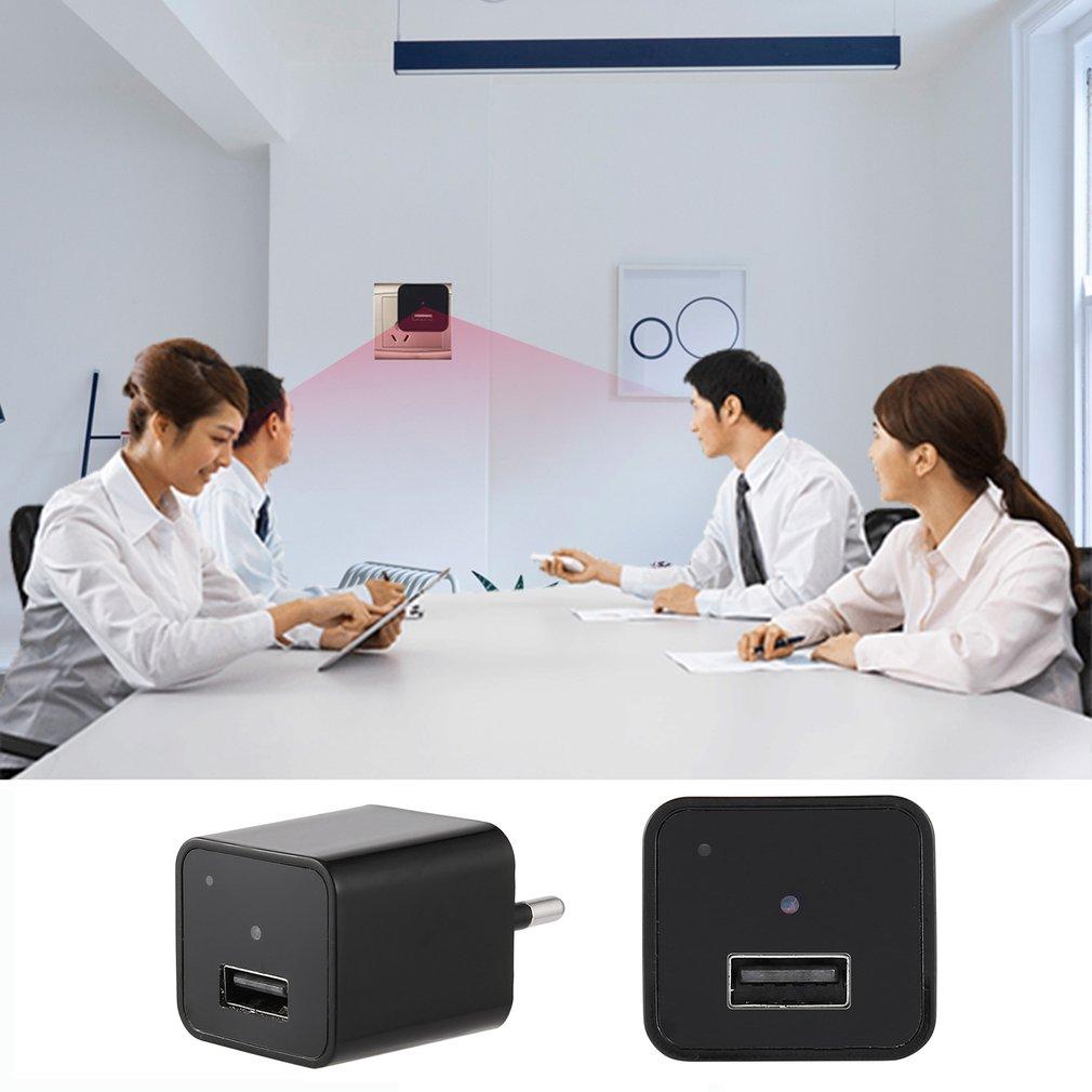New Mini Portable HD Monitor Camera Wall Charger Power Adapter Recorder
