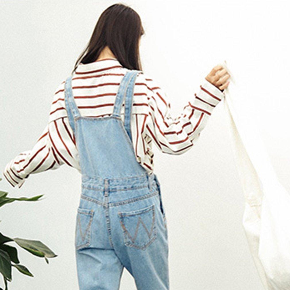 Fashion Women Blouse Turndown Collar Long Sleeve Striped Shirt Loose Tops