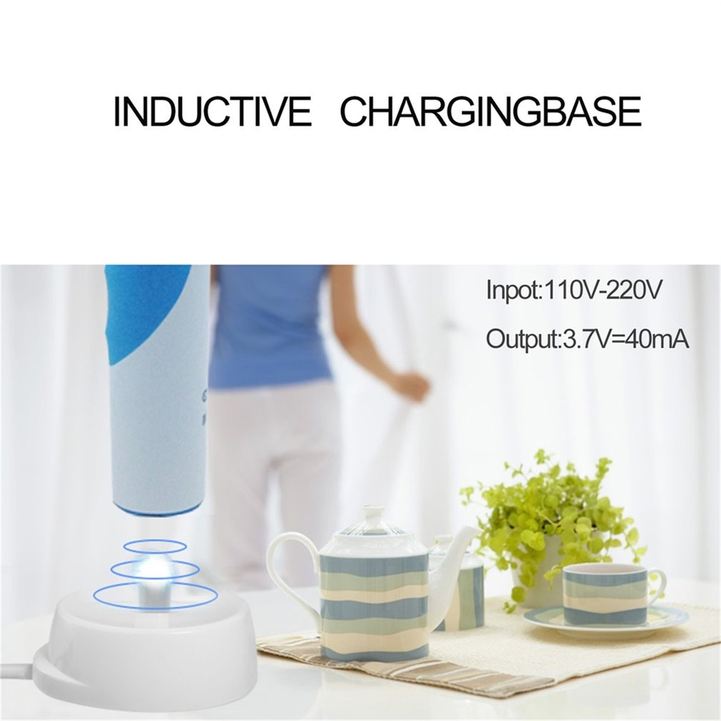 U-Kiss Inductive Charging Base for Electric Toothbrush Portable For Travel 3757