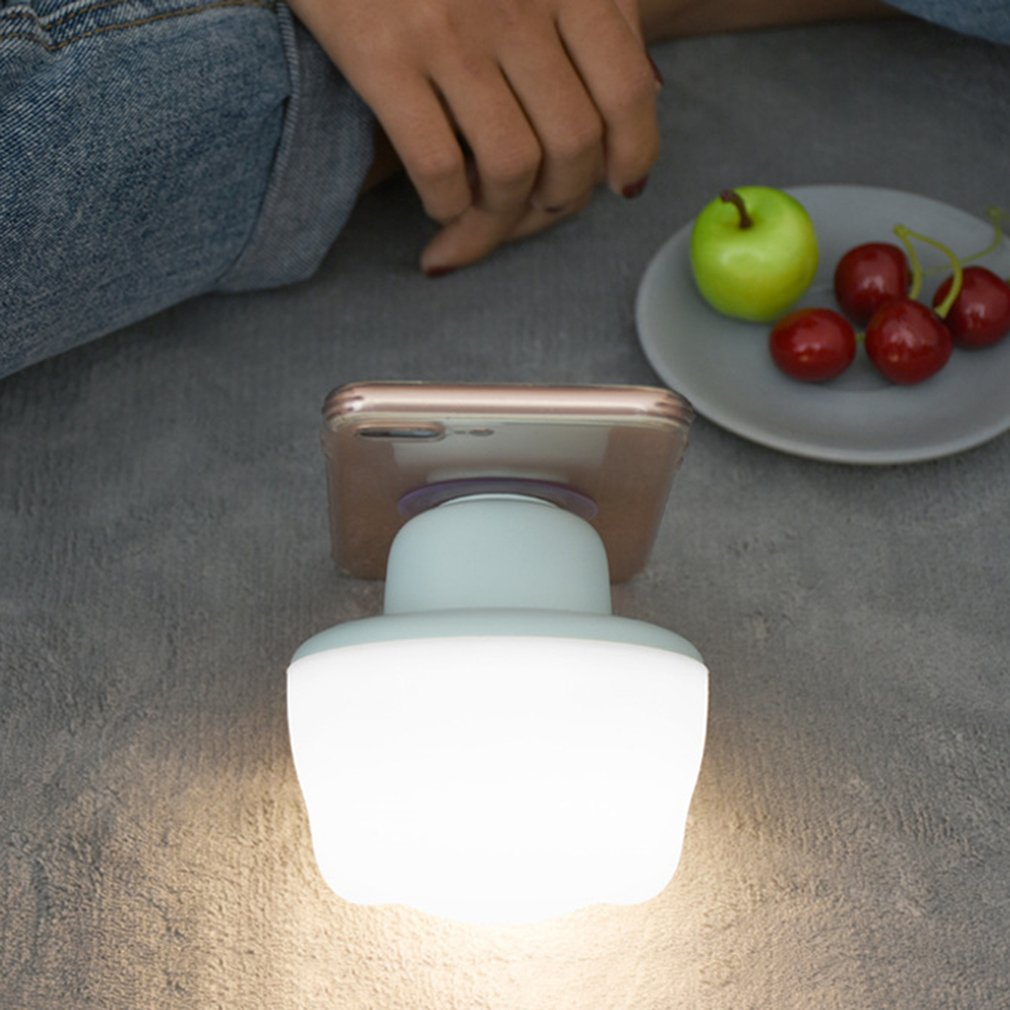 Colorful Silicone Sucker Lamp LED Night Light Adjustable Touch Sensor Light
