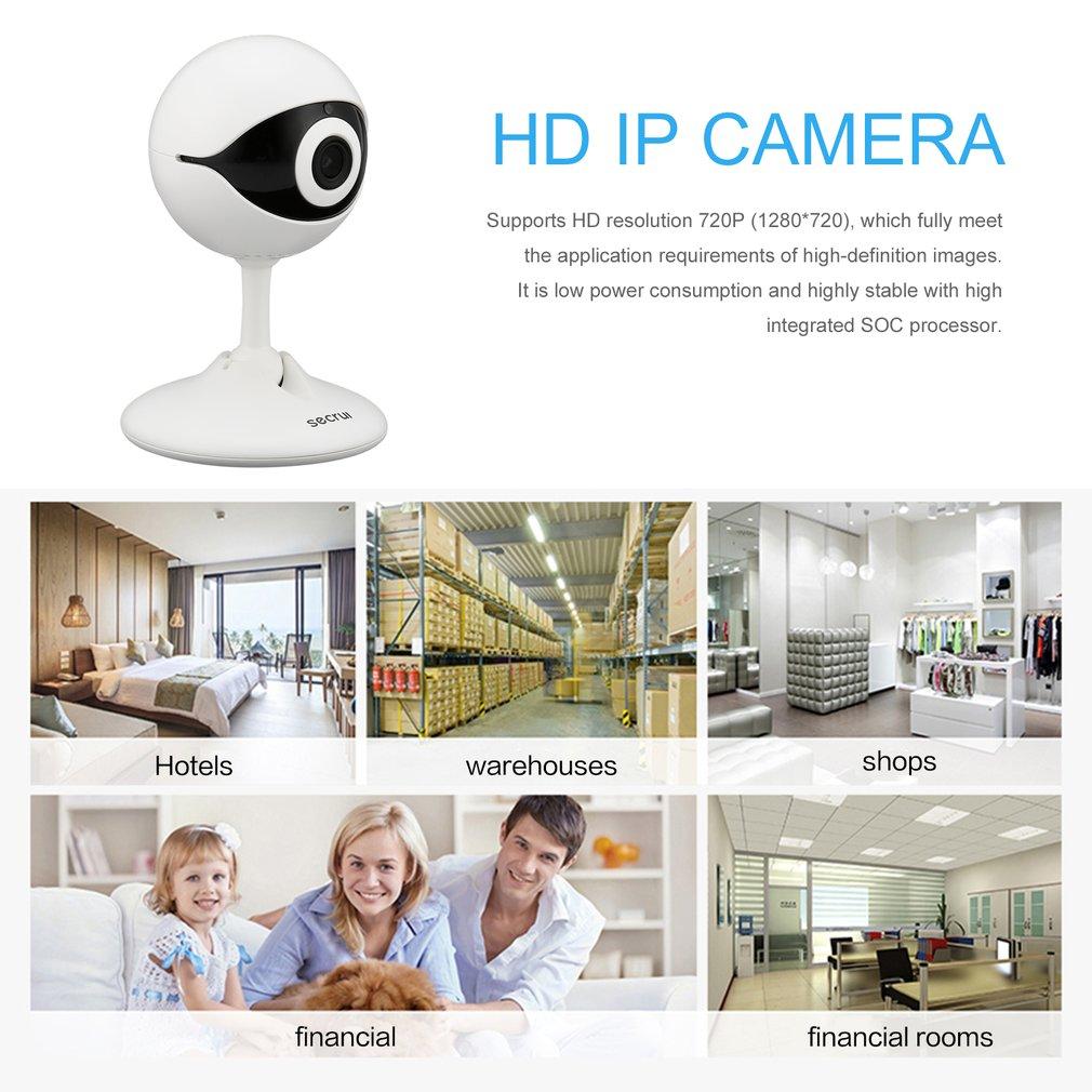 secrui N61 HD IP Camera WiFi Monitor with Security Alarm APP Wireless Control