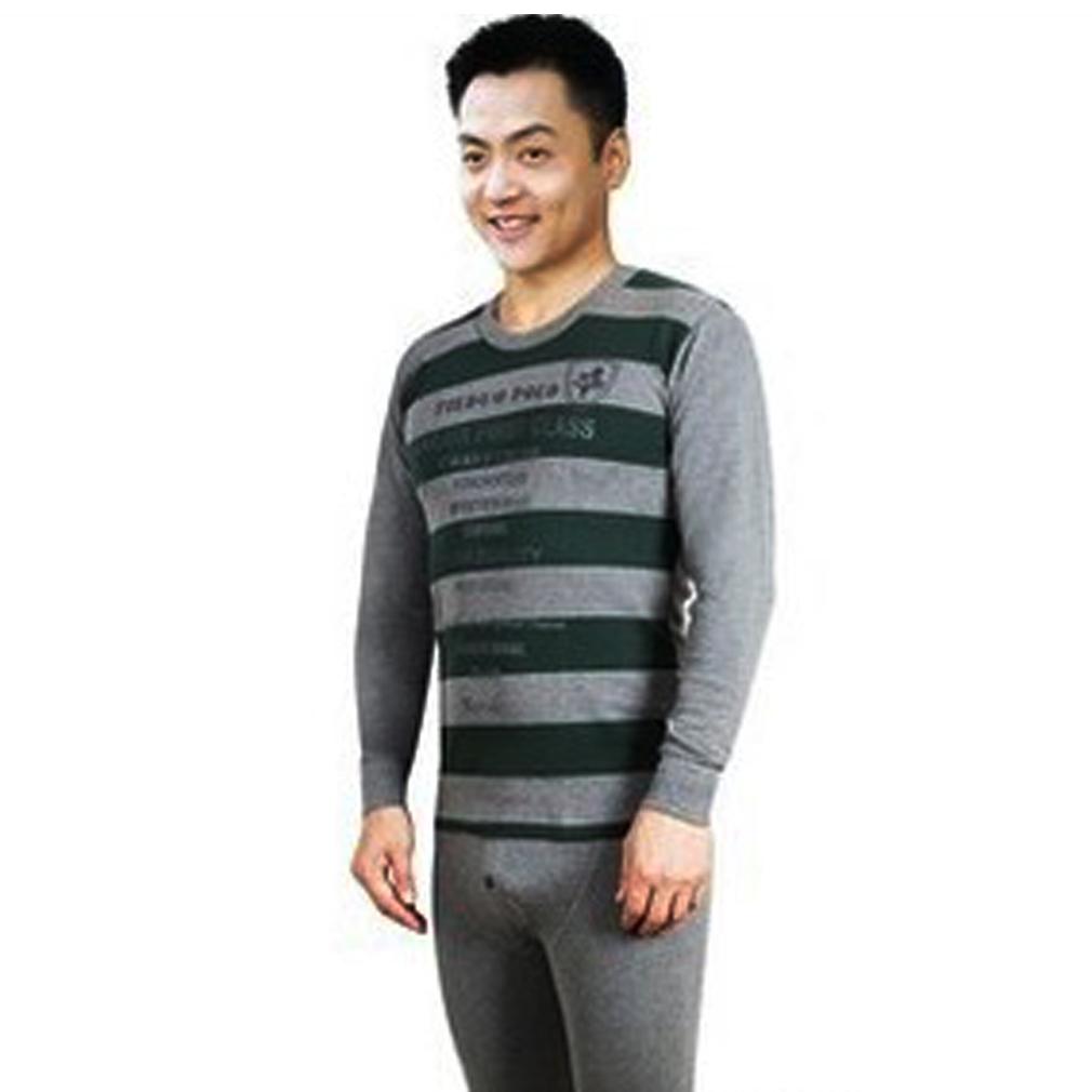 New Fashion men warm long Johns underwear modal top + pants