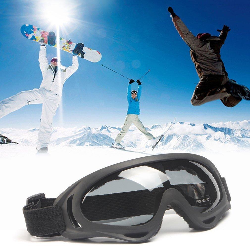 Windproof Goggles X400 UV Protection Polarized Glasses Men Women Ski Goggles
