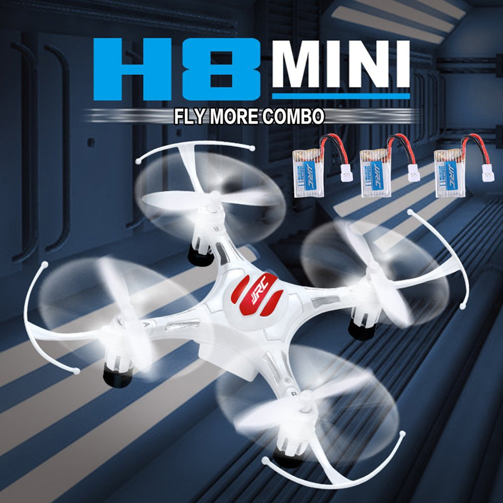 JJR/C H8 Mini 2.4G RC Drone Quadcopter with 3 Batteries Combo Headless Mode
